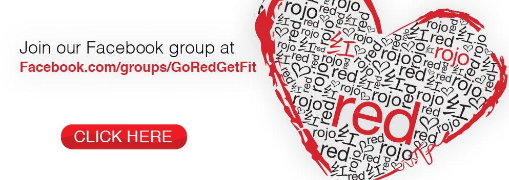 Join Facebook group GoRedGetFit